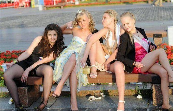 фото пьяных выпускниц голых