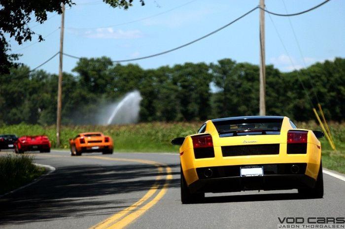 Встреча клуба владельцев Lamborghini (36 фото)