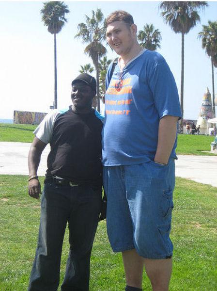 Самый высокий человек в США (30 фото)