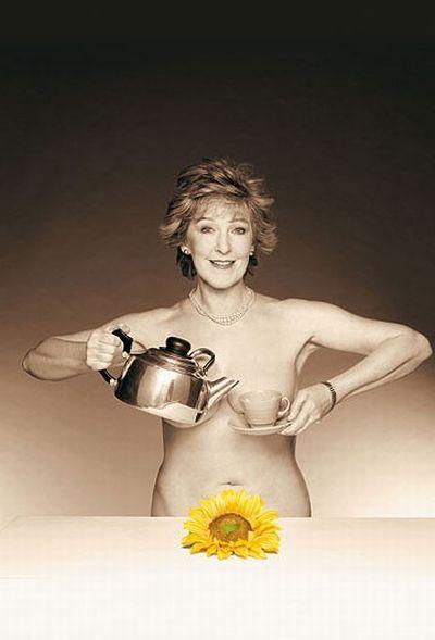 Календарь голых британских домохозяек (30 фото)