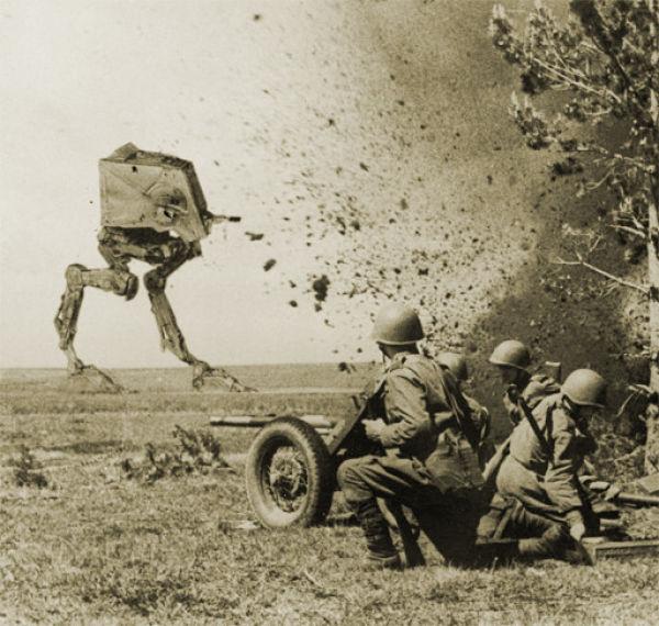 """Если бы """"Звездные Войны"""" существовали в реале (42 фото)"""