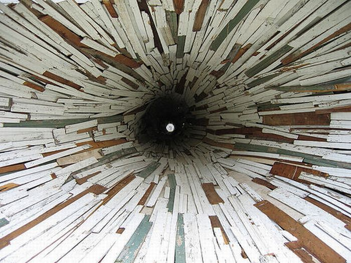 Дом-тоннель (7 фото)