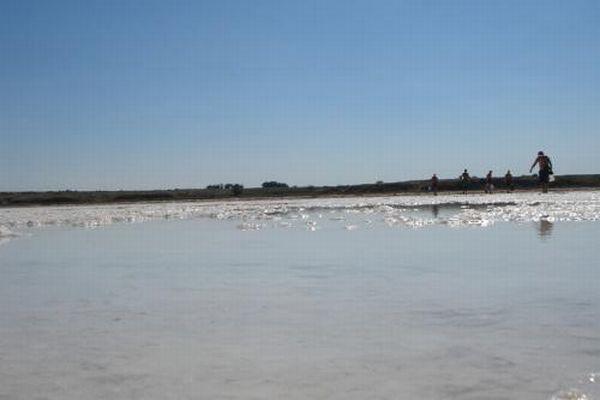 Самое соленое озеро России (20 фото)