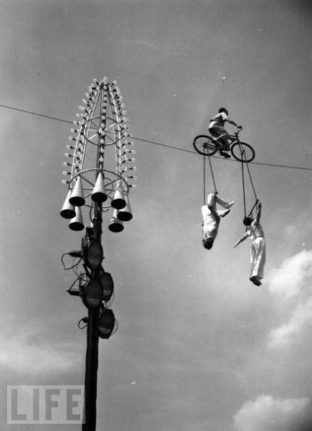 Трюкачи прошлого (26 фото)