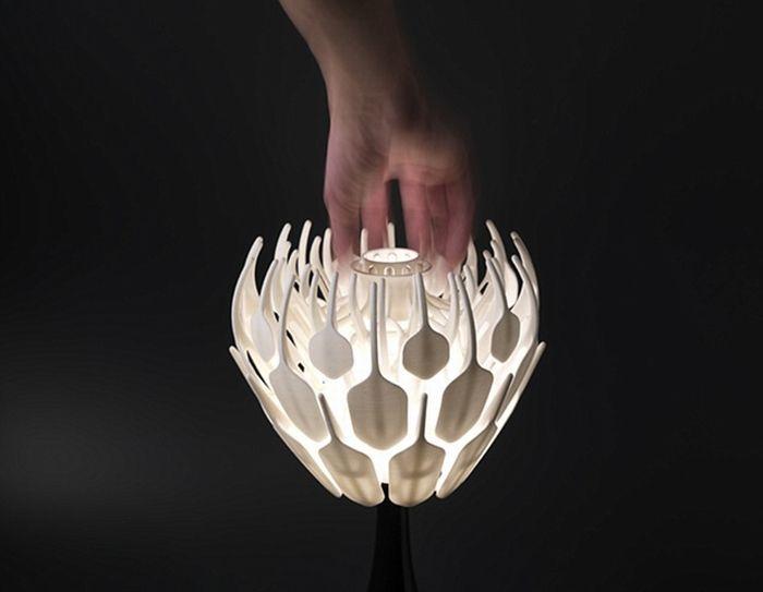 Интересный концепт настольной лампы (8 фото)
