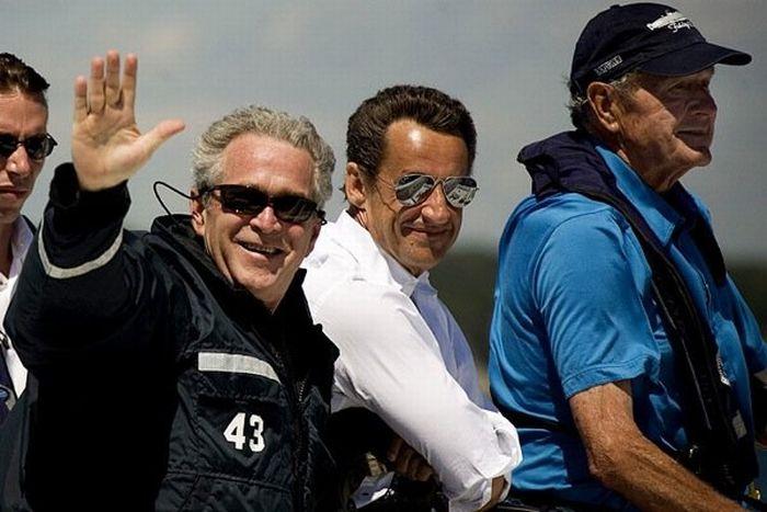 Самые смешные фотографии президента Буша (38 фото)