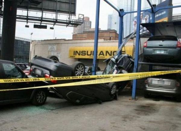 Неудачная парковка (22 фото)