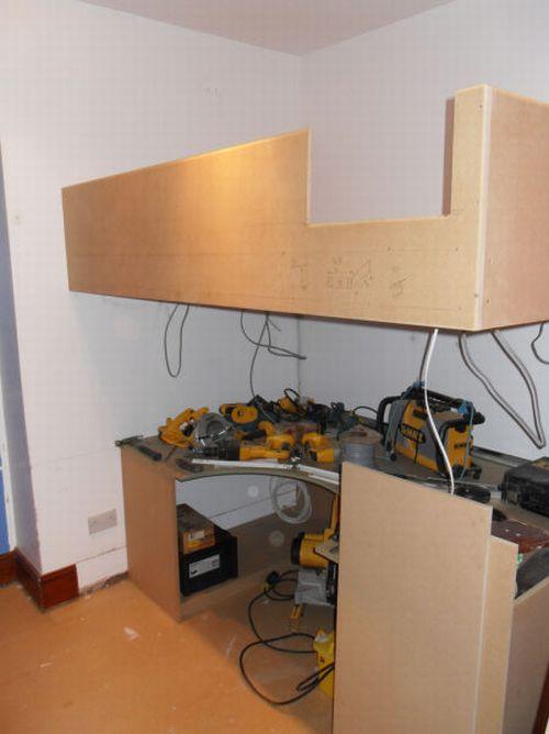 Самодельный рабочий стол (18 фото)