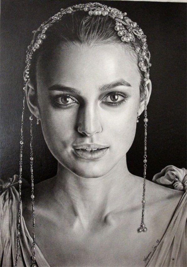 Классные портреты карандашом (54 картинок)