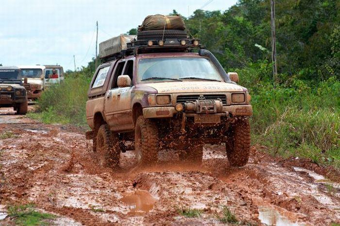 Худшая дорога Бразилии (65 фото)