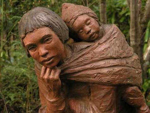 Сад деревянных скульптур в Мельбурне, Австралия (33 фото)
