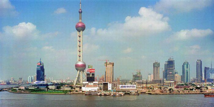 Как Шанхай изменился за 20 лет (3 фото)