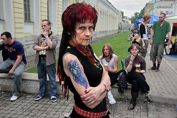 В Питере прошла лесбийская конвенция (7 фото)