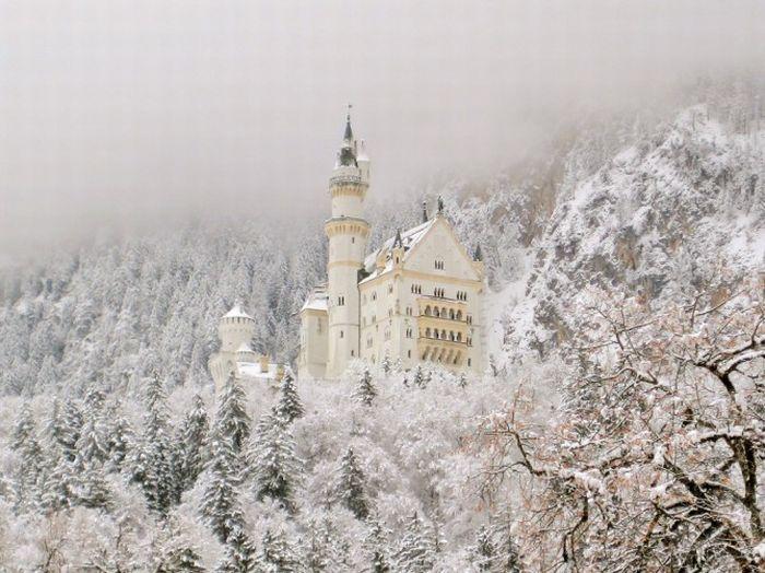 Замок Нойшванштайн (11 фото)