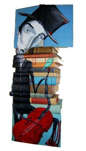 Креатив из книг (29 фото)