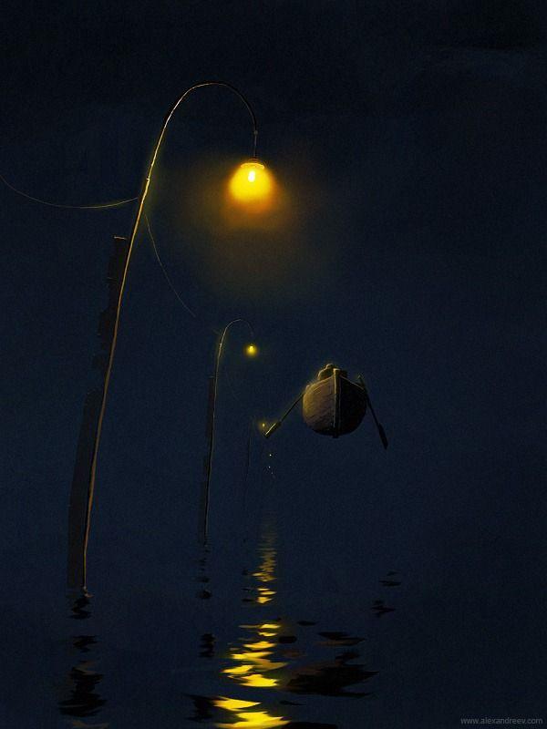 Красивые и необычные рисунки Александра Андреева (47 картинок)