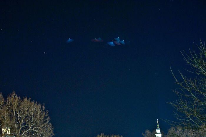 Фотографии НЛО со всего мира (101 фото)