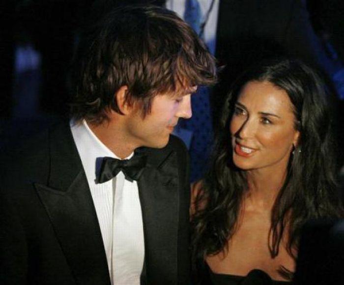 Деми Мур и ее оба мужа (34 фото)