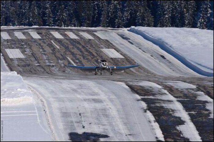 Аэропорт Куршавеля (10 фото + 2 видео)