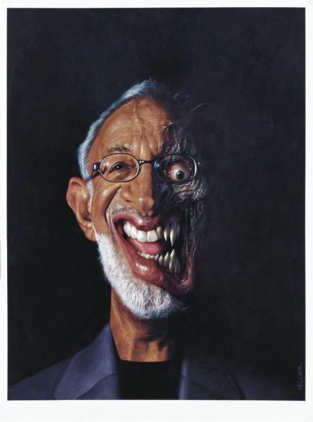 Портреты и карикатуры звезд (76 фото)