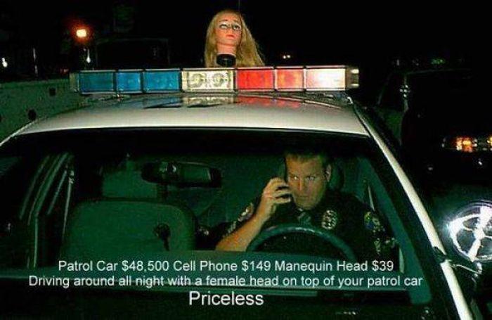 Необычные полицейские автомобили (27 фото)