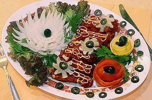 Необычное оформление блюд (53 фото)