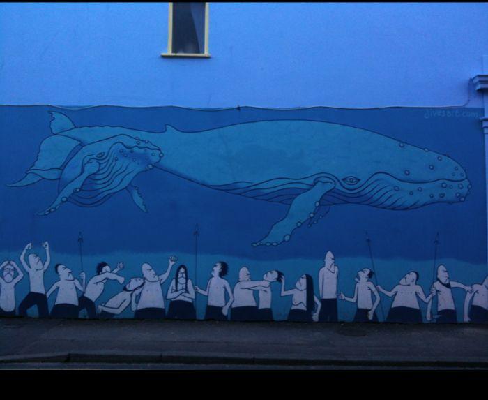 Красивые рисунки на стенах (14 фото)