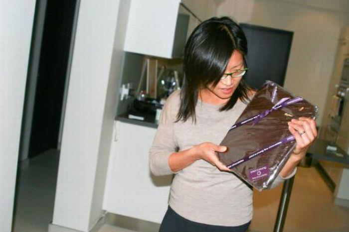 Интересная идея подарка для девушки (7 фото)