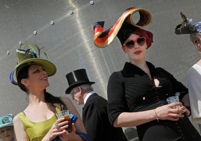 Необычные шляпки (15 фото)