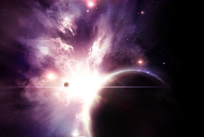Красивые рисунки космоса (64 фото)