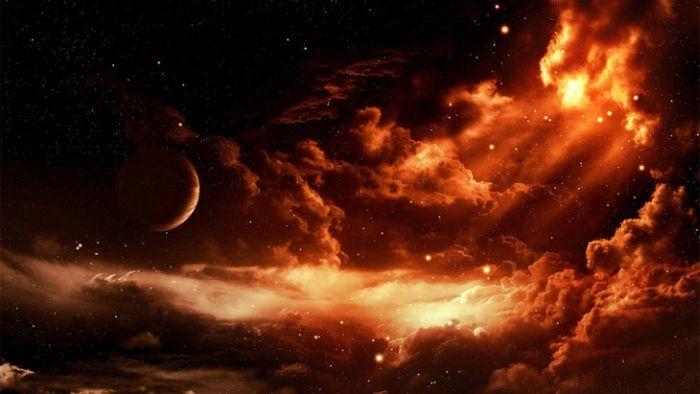 Красивые рисунки космоса 64 фото