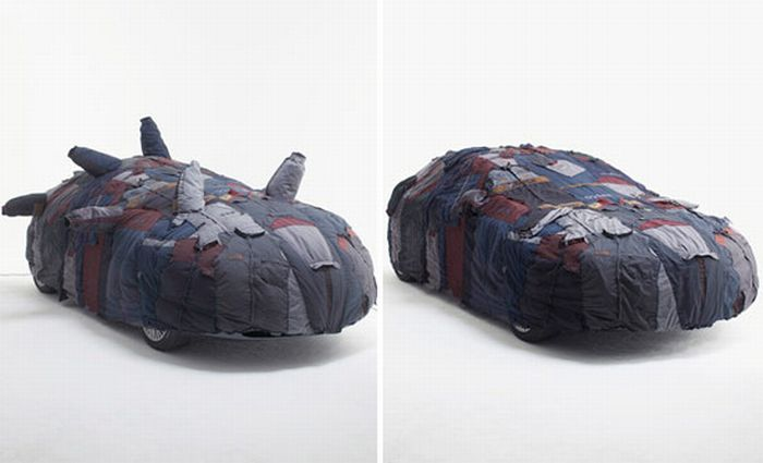 Дизайнерские чехлы для автомобилей (18 фото)