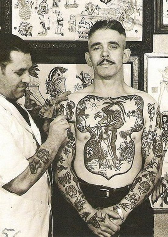28 for Vintage tattoo art parlor