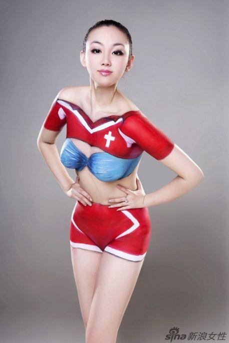 Китайские девушки подготовились к Чемпионату мира (32 фото)