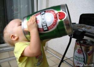 Смешные ситуации с пивом (25 фото)