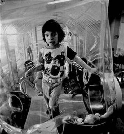 Дэвид Веттер, жизнь в пузыре (18 фото)
