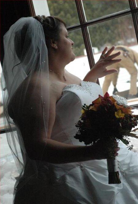 Неудачные свадебные фотографии (25 фото)