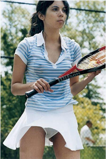Что у теннисисток под юбками (25 фото)