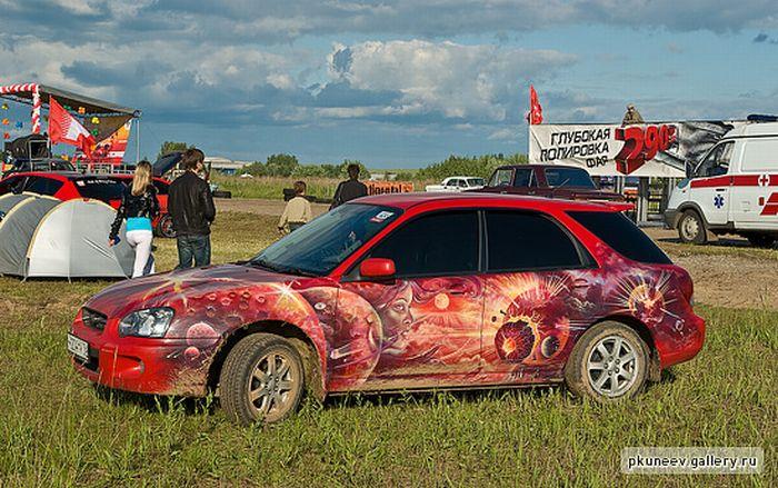 Автоэкзотика 2010 в Ярославле (61 фото)