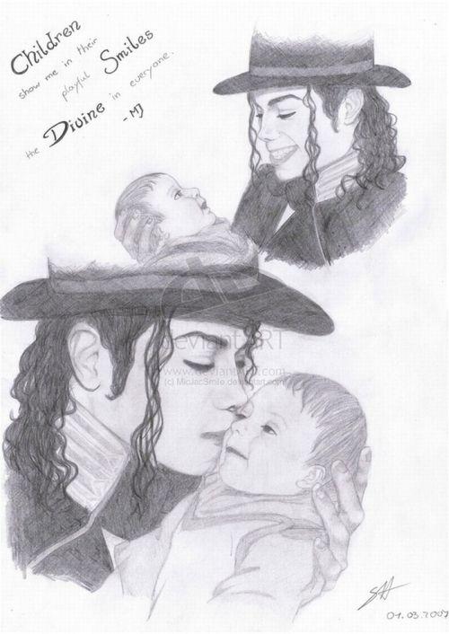 Самые странные рисунки фанатов Майкла Джексона (16 фото)