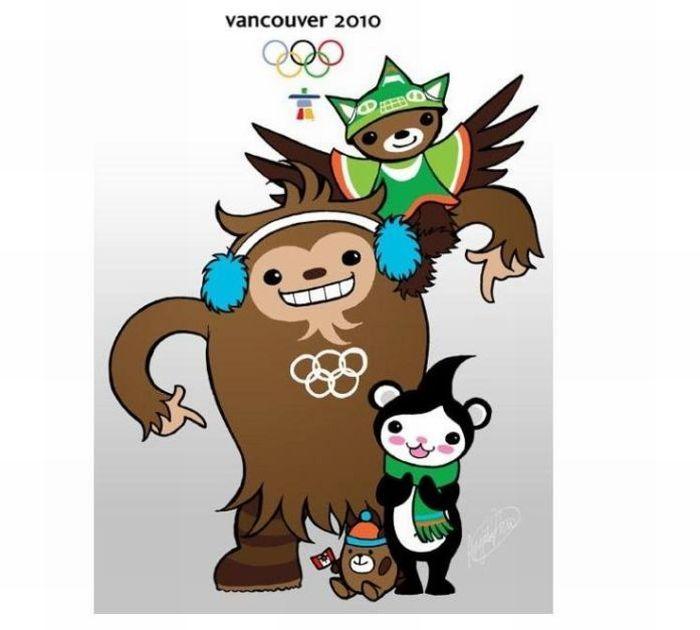 Педобир на олимпийском лого (7 фото)
