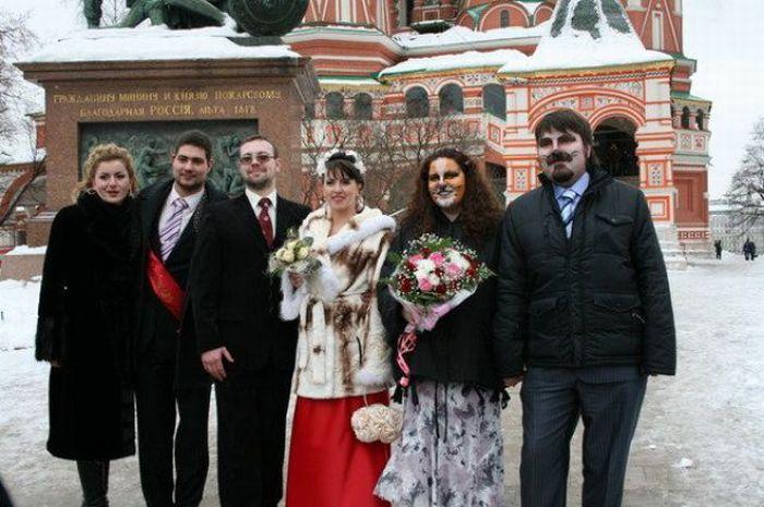 Странная свадьба (20 фото)