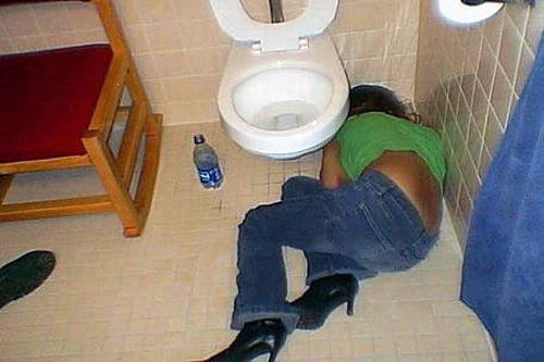 Пятничные пьяные девушки (119 фото)