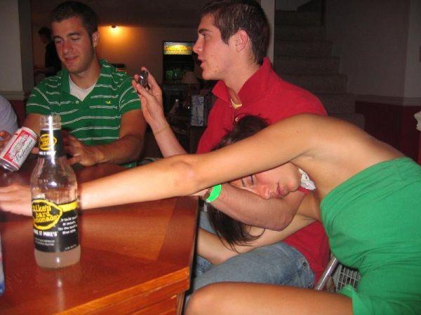 Тыквой пьяные девушки и всех фото