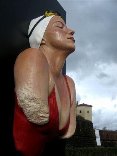 """Потрясающие """"живые"""" скульптуры (26 фото)"""
