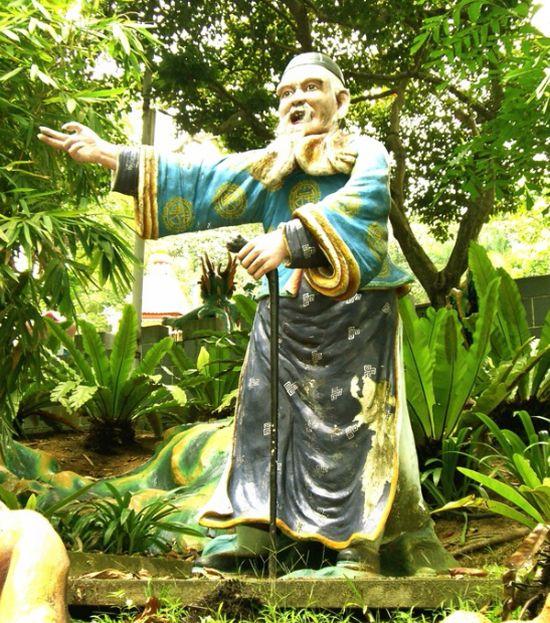 Хау Пар Вилла - парк скульптур в Сингапуре (47 фото)