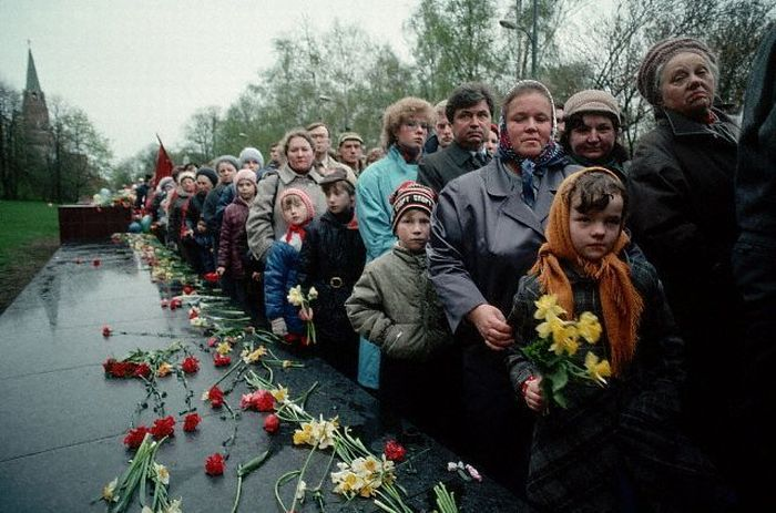 СССР. Последние 30 лет (90 фото)