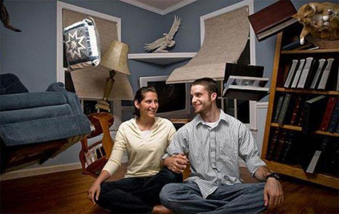 Креативные и необычные фотографии одной пары (39 фото)
