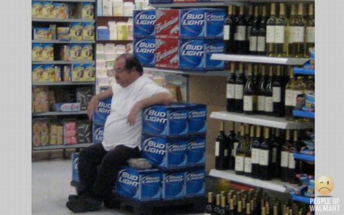 Смешные люди из супермаркетов. Часть 5 (65 фото)