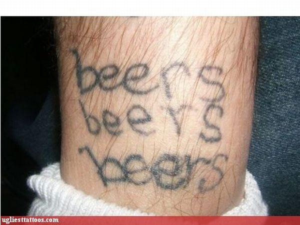 Самые уродливые татуировки (60 фото)